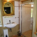 042 Fachwerkhaus, EG, Badezimmer, Waschbecken