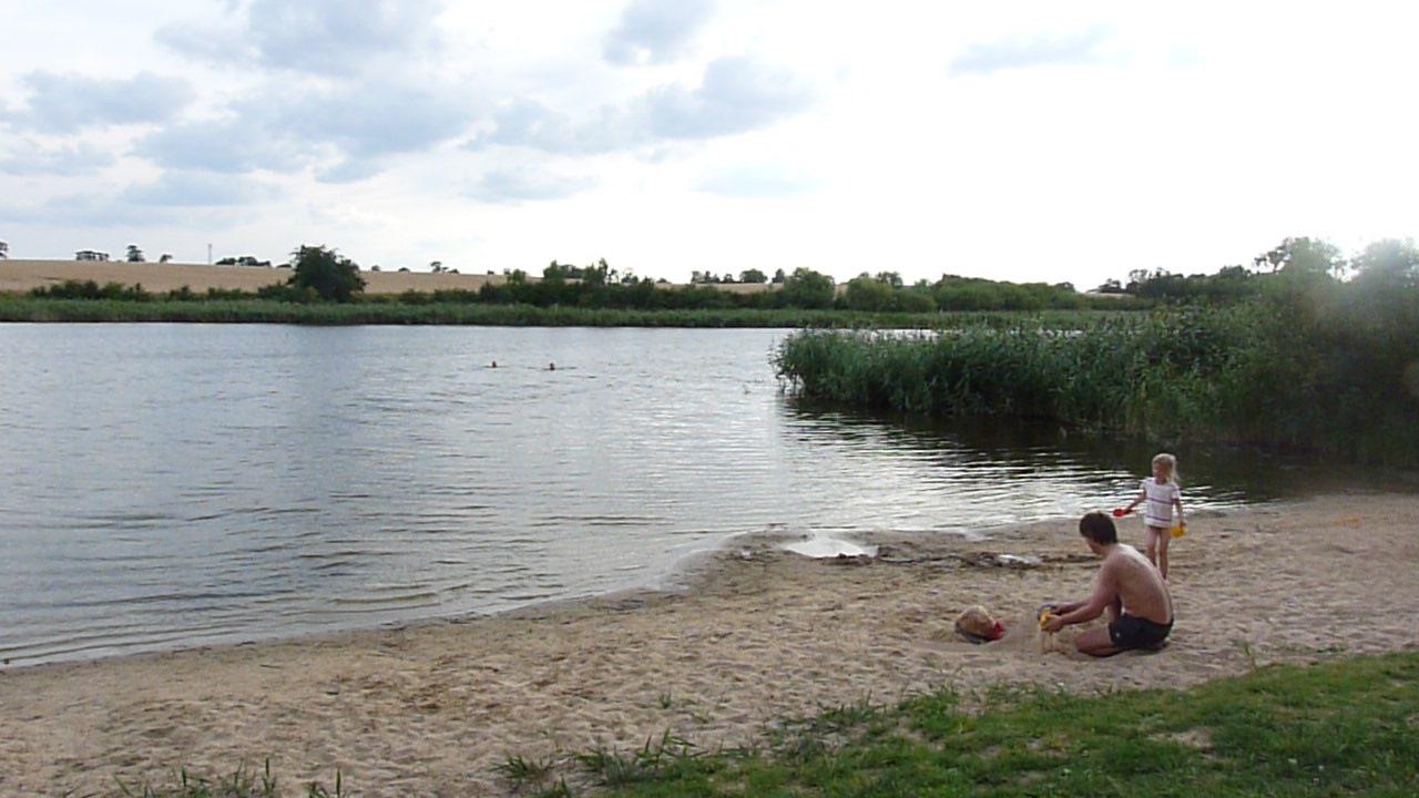 Der Wallmower See, ideal für Familien mit kleinen KIndern