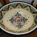 Fewo3, 7 Mexikanische Waschbecken, Detail