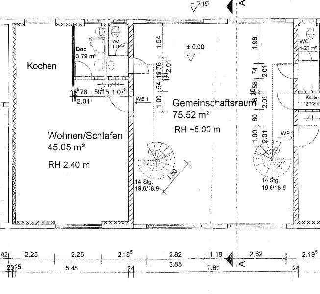 refugium uckermark grundriss atriumhaus eg rechts. Black Bedroom Furniture Sets. Home Design Ideas