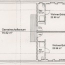 Grundriss, Atriumhaus, Fewo 6  Web
