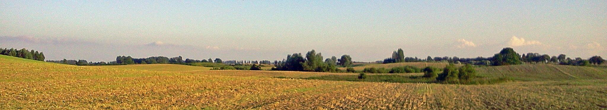 Landschaft bei Schwaneberg, das Licht der Uckermark